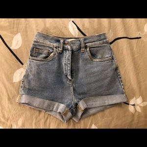 Wilfred free jean shorts